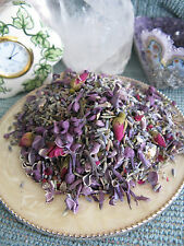NEW NATURAL DRIED LILAC, PETITE MINIATURE ROSE BUDS  & LAVENDER POTPOURRI MIX