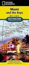Miami and the Keys : destination touring map & guide (National Geographic Destin
