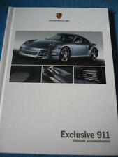 Porsche 911 Exclusivo folleto 2008 mi Jm