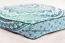 Large Ombre Mandala Cushion Mattress Doublesided Indian Bohemian Dog Bed Hippie