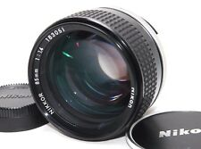 [Excellent] Nikon Ai-s Nikkor 85mm f/1.4 Portrait Lens Ais from JAPAN