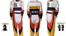 Renault kart race suit CIK/FIA level 2  (free gifts)