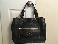 Anya Hindmarch Art Tote - Black Leather ~ Pre-owned!