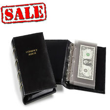 Lighthouse Banknotes Small Bill Mini Album USA World Currency With 20 pages FREE