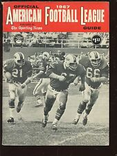 1967 The Sporting News AFL Football Guide EX