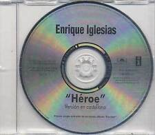 ENRIQUE IGLESIAS Cd Single HEROE Sung Spanish 2001