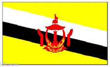 BRUNEI FLAG 5FT X 3FT (Another quality product from Klicnow) 100 Denier