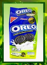 Nabisco OREO Matcha Green Tea Cream Sandwich Cookies Japan 6.67 Oz.