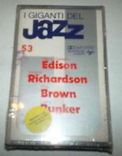 Giants of Jazz 53 - Edison,Richardson, Brown, Bunker - Cassette -SEALED