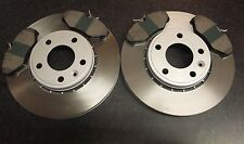 VAUXHALL VIVARO QUALITY FRONT BRAKE DISCS AND PADS ABS RING -please check sizes