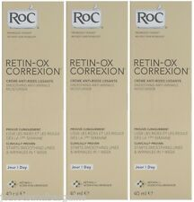 3 x 40ml RoC Retin-ox Correxion Smoothing Anti Wrinkle Moisturiser (EXP:05/2015)