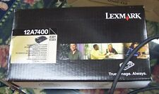 New GENUINE Lexmark E321 E323 Laser Printer Black Toner 12A7400 Return Program