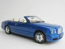 Bentley Azure 2006 1/18 Minichamps Convertible BLUE Cabriolet Cabrio 100139501