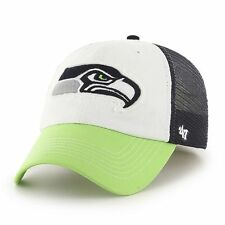Seattle Seahawks 47 Brand Privateer Mesh Close Flex Fit Hat