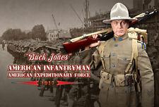 Dragon in 1/6 US Dreams DID WW I BUCK JONES SOLDATO AMERICANO 1917