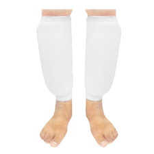 SHIN INSTEP PAD LEG & FOOT PROTECTOR ELASTICATED MEDIUM