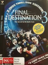 Final Destination 3 (DVD,). 2 disc set   REGION 4 - Free Post!!