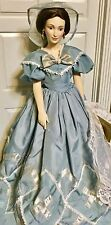 GONE WITH THE WIND, FRANKLIN HEIRLOOM PORCELAIN DOLL, MELANIE, RARE PIECE, NICE