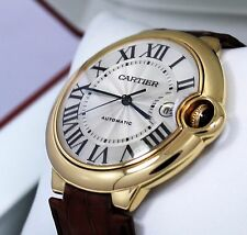Cartier Ballon Bleu Large 42mm W6900551 18K Yellow Gold Watch *MINT CONDITION*