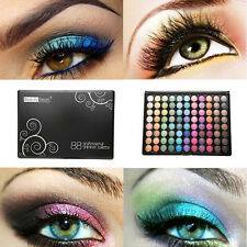 NEW 88 PROFESSIONAL Shimmer Eyeshadow PALETTE Cosmetics Eye shadow Color (988-S)