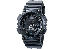 Casio AQ-S810W Men's Black Dial Tough Solar Illuminator Sport watch  ~AB+586