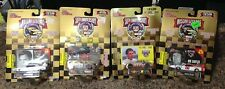 '98 & Commemorative Series Lot of 4 Nascar Legends w/Card and Display Stands