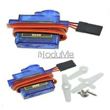 10PCS 9G SG90 Mini Micro Servo For RC Robot Helicopter Airplane Car Boat MO