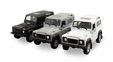 "Welly Set of 3 Land Rover Defender SUV 1/38 scale 4.25"" diecast model car  W68"
