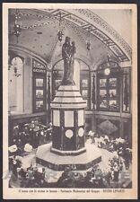 GENOVA SESTRI LEVANTE 90 SANTUARIO MADONNA del GRAPPA Cartolina viaggiata 1942