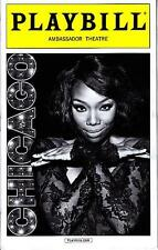 CHICAGO PLAYBILL NEW YORK CITY NY BROADWAY JULY 2015 BRANDY NORWOOD