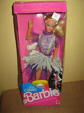 BARBIE DOLL 1990 ICE CAPADES SKATER skating 9847 blonde