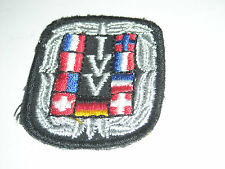 TOPPA PATCH RICAMATA IVV Internationaler Volkssportverband