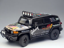 NEW 1/18 Autoart Toyota FJ Cruiser 2007 BAJA #761 Diecast race car model black