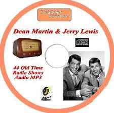 Dean Martin & Jerry Lewis 44 Old Time Comedy Radio Shows OTR CD MP3