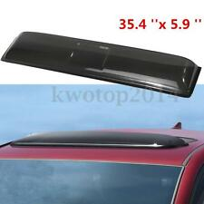 Universal Car Skylight Deflector SUV Sunroof Roof Visor Vent Wind Rain Guard
