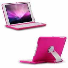 360 Degree Rotating Swivel Wireless Bluetooth Keyboard Case Cover For Ipad Mini