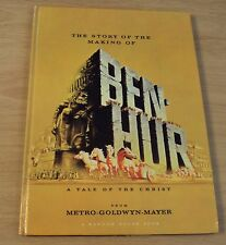 """1959 Mgm A Tale of Christ~""""Ben Hur""""~Story of the Making~Fold Outs~"""