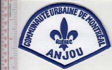 Montreal Police Department Communaute Urbaine Secteur Anjou (non Active)