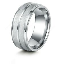 #9054 Stainless Steel Rings For Women & Men Double Path Fashion Rings