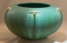 Ephraim Faience Pottery Queen Anne's Lace Vase
