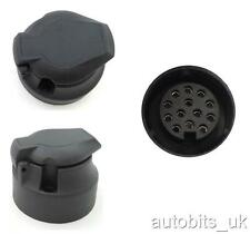 13 pin black plastic socket Tow Bar Towing Car Trailer Caravan Camper Euro NEW