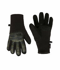 The North Face Mens THERMOBALL ETIP Fleece Touchsreen Gloves Black Green Camo L