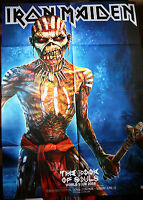 Large Original IRON MAIDEN The Book Of Souls TOUR POSTER 30x22 in/ 76x55 cm @NEW