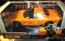 Superb TAKARA c2004  Transfomers 06 TRACKS 1/24 CHEVY CORVETTE - NEW/B/UNOPENED