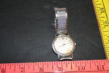 vintage Bulova automatic mens wrist watch 21 jewels runs