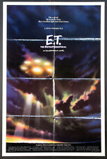 E.T. THE EXTRA-TERRESTRIAL SPIELBERG 1982 SPACESHIP ADVANCE 1-SHEET