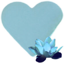 """"""""""" SPECIAL OFFER """"""""   3 x Lotus Flower Heart Shaped Guest Soaps - FREE P+P"""