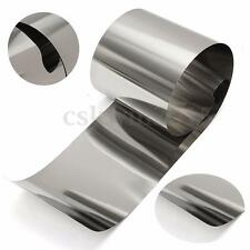 Stainless Steel Fine Plate Thin Sheet Rust Resistance Foil 0.05mm x 100mm x 1m