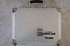 Selten. Original Rollei Alu- Koffer für Rolleiflex SL 2000F. Exklusive Case.