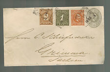 1895 Netherlands Indies Cover to Geimma Holland